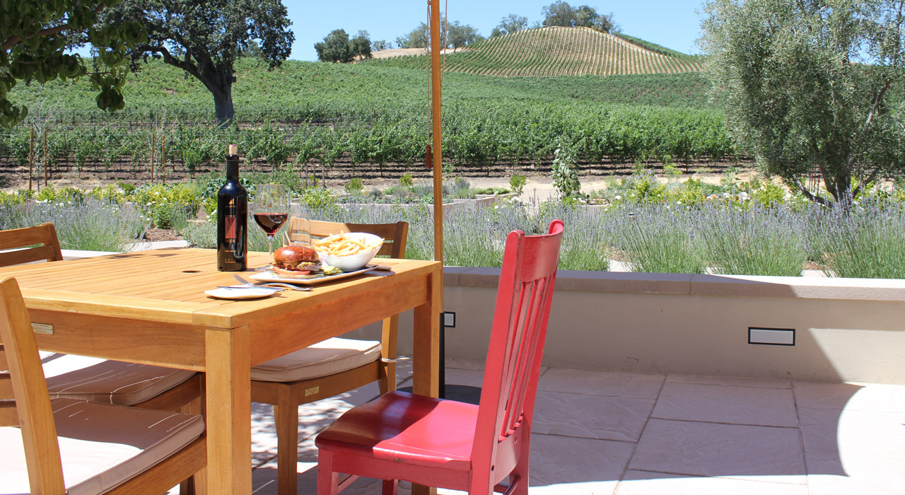 Red Chair Travels at JUSTIN Vineyards and Winery