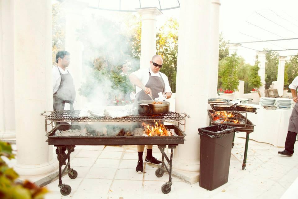 BBQ at Justin Vineyard and Winery Gala