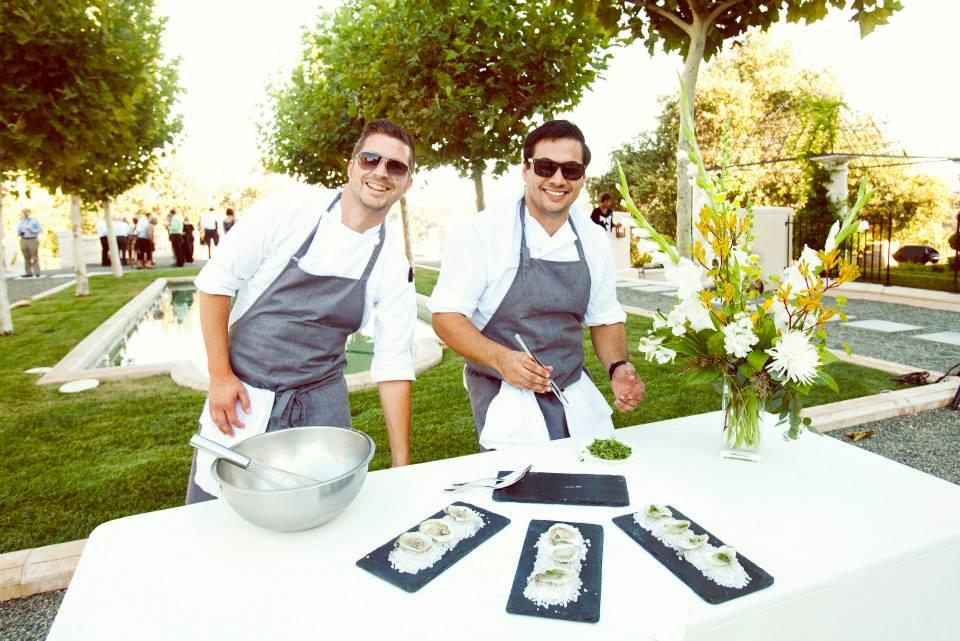 Cooking at Justin Winery and Vineyards Gala