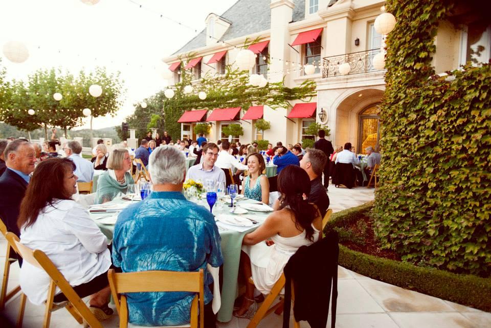 Outdoor Patio at Justin Winery Gala