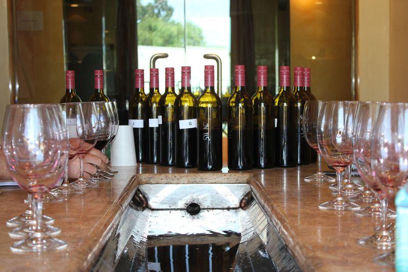 Blending JUSTIN Wine