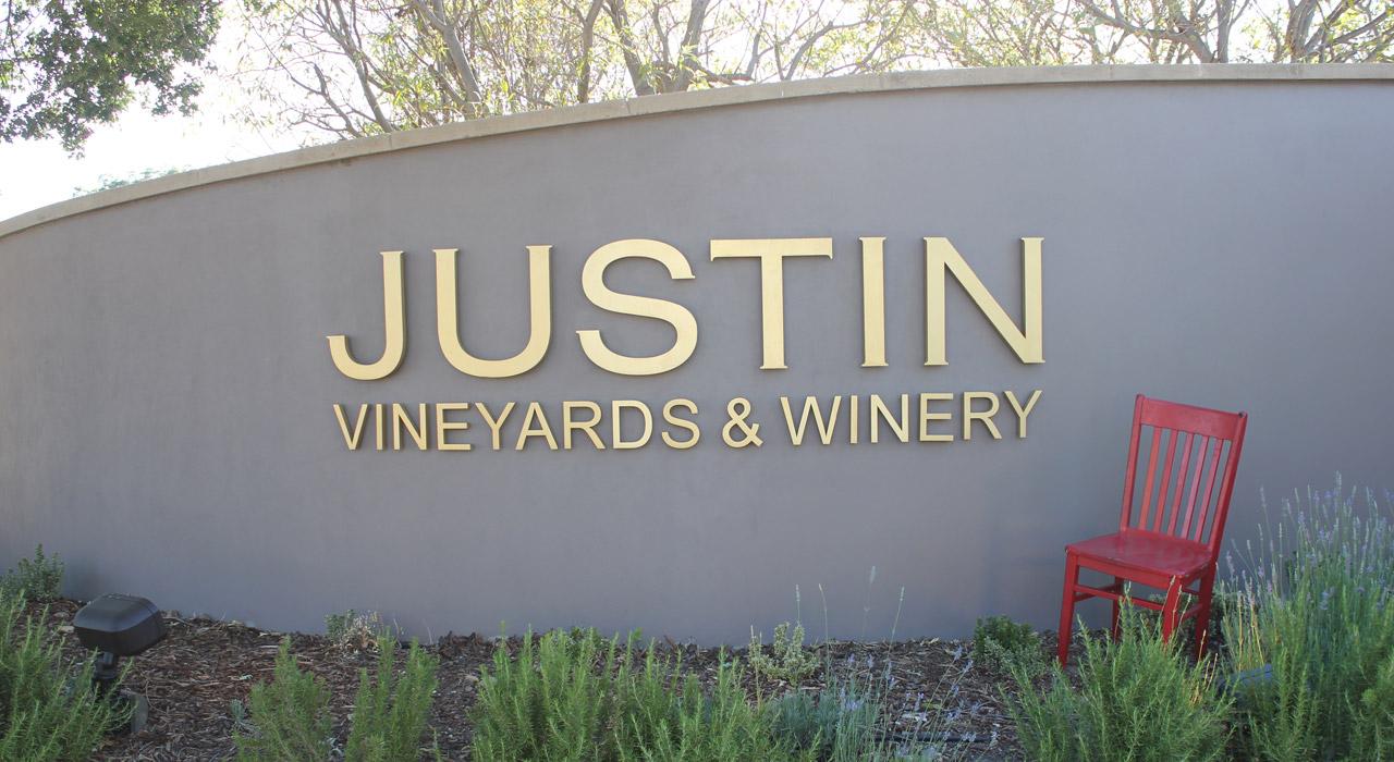Red Chair Travels at JUSTIN Vineyardsa and Winery
